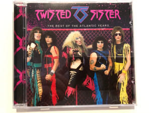 Twisted Sister – The Best Of The Atlantic Years / Atlantic Audio CD 2016 / 081227944216