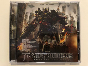 The Album - Transformers: Dark Of The Moon / Linkin Park, Paramore, My Chemical Romance, Taking Back Sunday, Staind, Art Of Dying, Goo Goo Dolls, Theory Of A Deadman, Black Veil Brides / Reprise Records Audio CD 2011 / 9362-49554-9