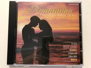 Romantika - 15 Szerelmes Dal / R-GO, Edda Művek, Zorán, Piramis, Demjén,Bikini / Gong Audio CD 1996 / HCD 37853