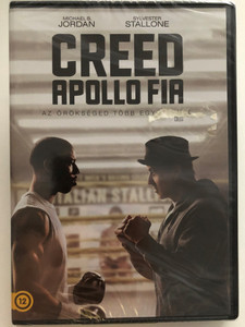 Creed DVD 2015 Creed Apollo fia / Directed by Ryan Coogler / Starring: Michael B. Jordan, Sylvester Stallone, Michael B. Jordan Sylvester Stallone, Tessa Thompson (5996514023244)