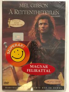 Braveheart 2xDVD 1995 A rettenthetetlen / Directed by Mel Gibson / Starring: Mel Gibson, Sophie Marceau, Patrick Mcgoohan, Catherine McCormack (5996255705003)