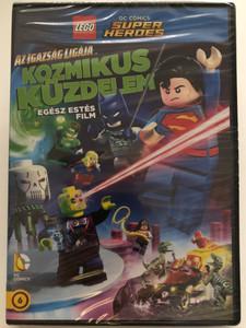 Lego DC Comics - Super Heroes: Justice League - Cosmic Clash DVD 2016 Lego Dc Comics Szuperhősök: Az Igazság Ligája - Kozmikus küzdelem / Directed by Rick Morales / Voices: Troy Baker, Grey Griffin, Phil Lamarr (5996514023206)