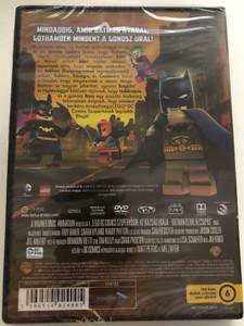 Lego DC Comics Super Heroes: Justice League - Gotham City Breakout DVD 2016 Lego DC Comics Szuperhősök: Az Igazság Ligája - Batman és a halálcsapás / Directed by Matt Peters, Mel Zwyer / Voices by Troy Baker, Eric Bauza, Greg Cipes, John DiMaggio (5996514024005)