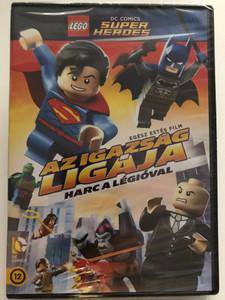 Lego Justice League: Attack of the Legion of Doom DVD 2016 Lego Dc Comics Szuperhősök: Az Igazság Ligája - Kozmikus küzdelem / Directed by Rick Morales / Voices: Mark Hamill, Troy Baker, Nolan North, Khary Payton (5996514020724)