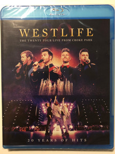 Westlife - 20 Years of Hits Blu-Ray Disc 2019 The Twenty Tour Live from Croke Park / Directed by Richard Valentine / Universal Music (602508500558)