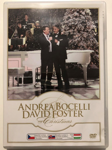 My Christmas with Andrea Bocelli & David Foster DVD 2009 From the Great Performances PBS Special / Directed by David Horn / Recorded live at the Kodak Theatre in LA / Sugar S.r.l (602527295053)