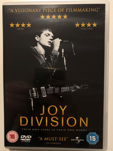 Joy Division DVD 2007 Their own story in their own words / Directed by Grant Gee / Documentary about famous band (5050582568318)