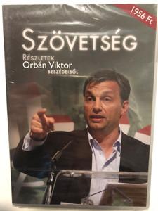 Szövetség - Részletek Orbán Viktor beszédeiből DVD / Demokrate Videó Televízió / Produced by Fekete Imre / Artamondo kiadó / Excerpts from Viktor Orbán's speaches (5990503468009)