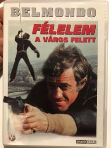 Peur sur la ville (Fear Over the City) DVD 1975 Félelem a város felett / Directed by Henri Verneuil / Starring: Jean-Paul Belmondo, Charles Denner (5999546330168)