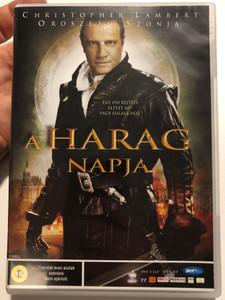Day of Wrath DVD 2006 A harag napja / Directed by Adrian Rudomin / Starring: Christopher Lambert, Blanca Marsillach, Oroszlán Szonya (5998133172938)