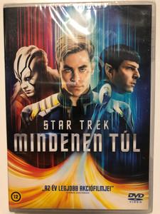 Star Trek Beyond DVD 2016 Star Trek Mindenen túl / Directed by Justin Lin / Starring: Chris Pine, John Cho, Simon Pegg, Zachary Quinto (8590548615740)