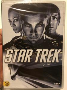 Star Trek DVD 2009 / Directed by J. J. Abrams / Starring: John Cho, Ben Cross, Bruce Greenwood, Simon Pegg, Chris Pine, Zachary Quinto, Winona Ryder (8590548617188)