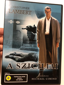 The Sicilian DVD 1987 A szicíliai / Directed by Michael Cimino / Starring: Christopher Lambert, Terence Stamp, Joss Ackland, John Turturro (5996255716641)