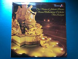 The Vienna Of Johann Strauss / Vienna Philharmonic Orchestra, Von Karajan / Ace Of Diamonds LP Stereo / SDD 259