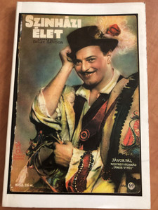 Magyar Színházi Élet 1936. 26. szám (reprint) / Incze Sándor / Hungarian Guide to theater life in Hungary (9633229774)