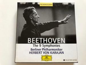 Beethoven: The 9 Symphonies / Berliner Philharmoniker, Herbert von Karajan / Collectors Edition / The Colour Of Classics / Deutsche Grammophon 5x Audio CD Stereo, Box Set / 463 088-2