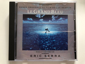 Gaumont Presente - Bande Originale Du Film De Luc Besson - Le Grand Bleu / Musique Composee Par Eric Serra / Virgin Audio CD 1988 / 259 188