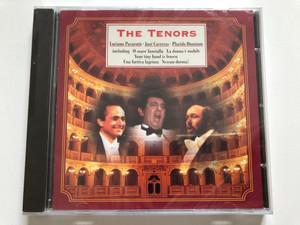 The Three Tenors - Luciano Pavarotti, José Carreras, Placido Domingo / Including: O Soave Fanciulla, La Donna E' Mobile, Your tiny hand is frozen, Una Furtiva Lagrima, Nessun Dorma! / Autograph Audio CD 1995 / MAC CD 944