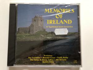 Memories Of Ireland / 16 Traditional Irish Favourites / Featuring: The Dubliners, Brendan Grace,Paddy Reilly, The Fureys & Davey Arthur, Jim McCann, Ronnie Drew / K-Tel Audio CD 1995 / ECD 3113