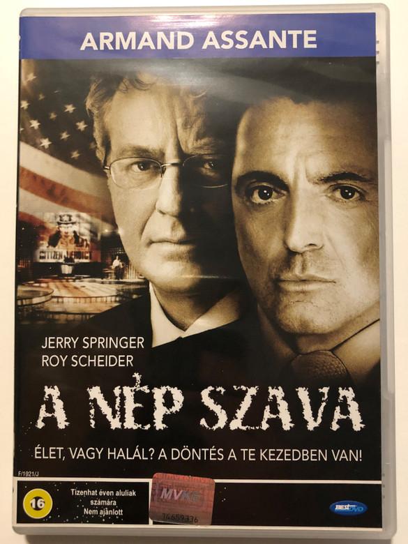 Citizen Verdict DVD 2003 A nép szava / Directed by Philippe Martinez / Starring: Jerry Springer, Roy Scheider, Armand Assante (5998133153135)