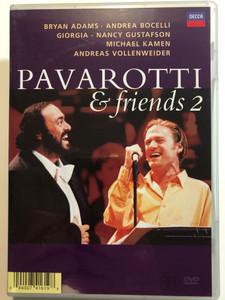 Pavarotti & Friends 2 DVD Bryan Adams, Andrea Bocelli, Michael Kamen, Sting / Pavarotti International Charity Gala Concert / Decca (044007416198)