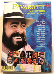 Pavarotti & friends DVD 2000 For Cambodia and Tibet / Aqua, Eurythmics, Enrique Iglesias, Savage Garden, José Molina (044007416495)