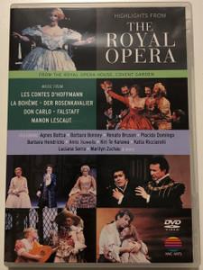 Highlights from the Royal Opera DVD 1990 Music from La Bohéme, Der Rosenkavalier, Don Carlo, Falstaff / Royal Opera House Covent Garden / NVC Arts (5051011232428)