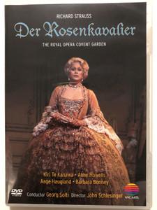 Richard Strauss - Der Rosenkavalier DVD 1985 The Royal Opera Covent Garden / Directed by John Schlesinger, Conducted by Georg Solti / Kiri Te Kanawa, Anne Howells, Aage Haugland, Barbara Bonney / NVC Arts (0706301939123)