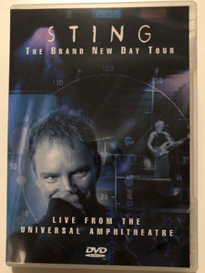Sting - The Brand new day tour DVD 2000 Live from the Universal Amphitheatre / A&M Records / Seven Days, Englishman in New York, Desert Rose, Message in a bottle, Fragile (044005328394)