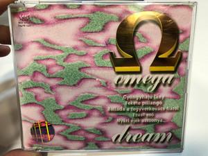 Omega dream / Gyöngyhajú lány, Fekete pillangó, Ballada a fegyverkovács fiáról / MegA / Hungaroton - Gong Audio CD 1994 / HCD 37753 (5991813775320)