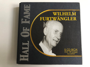 Hall Of Fame - Wilhelm Furtwangler / 5CD Box incl. 40 page booklet / Past Perfect 5x Audio CD 2002 / 220077