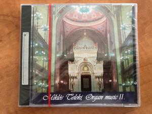 Miklos Teleki - Organ Music II. / Audio CD 1996