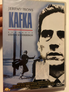 Kafka DVD 1991 / Directed by Steven Soderbergh / Starring Jeremy Irons, Theresa Russell, Joel Grey, Ian Holm, Jeroen Krabbé (5999545560545)
