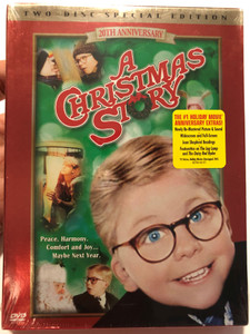 A Christmas Story DVD 1983 20th Anniversary - Two disc special edition / Directed by Bob Clark / Starring: Melinda Dillon, Darren McGavin, Peter Bilingsley / Disc Two - 20th Anniversary Extras! (012569576421)