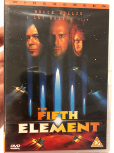 The Fifth Element DVD 1997 Widescreen edition / Directed by Luc Besson / Starring: Bruce Willis, Milla Jovovich, Gary Oldman, Ian Holm (5060002830055)
