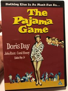 The pajama game (1957) DVD / Directed by George Abbott, Stanley Donen / Starring: Doris Day, John Raitt, Carol Haney, Eddie Foy Jr. (827139102395)