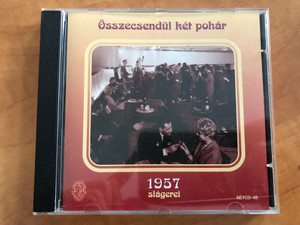 Összescsendül ket pohár - 1957 slágerei / Rózsavölgyi És Társa Audio CD 2007 Mono / RÉTCD 48