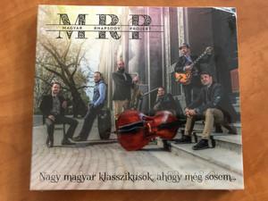 Magyar Rhapsody Projekt - Nagy magyar klasszikusok ahogy meg sosem... / Rózsavölgyi És Társa Audio CD 2019 / RÉT CD 093