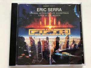 Gaumont Presents - Eric Serra (Original Motion Picture Soundtrack) - The Fifth Element / Virgin Audio CD 1997 / 724384496227