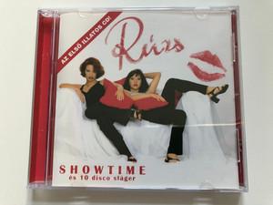 Rúzs – Showtime es 10 disco slager / Az elso illatos CD! / Zebra Audio CD 1999 / 559-772-2