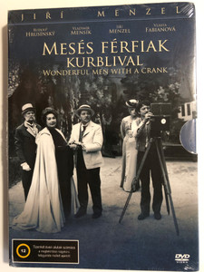 Wonderful men with a crank (Báječní muži s klikou) DVD 1978 Mesés Férfiak Kurblival / Directed by Jiri Menzel / Starring: Rudolf Hrusinsky, Vladimir Mensik, Vlasta Fabianová (5999545587051)