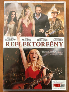 Country Strong DVD 2010 Reflektorfény / Directed by Shana Feste / Starring: Gwyneth Paltrow, Tim McGraw, Garrett Hedlund (5996255735840)