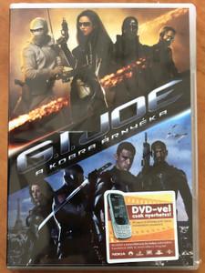 G.I. Joe: The Rise of the Cobra DVD 2009 G.I. Joe A kobra árnyéka / Directed by Stephen Sommers / Starring: Channing Tatum, Marlon Wayans, Adewale Akinnuoye-Agbaje, Dennis Quaid (5996255730050)