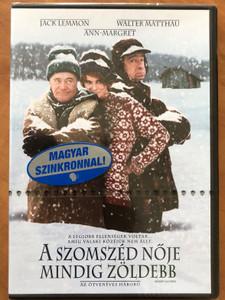 Grumpy old men DVD 1993 A szomszéd nője mindig zöldebb / Directed by Donald Petrie / Starring: Jack Lemmon, Walter Matthau, Ann-Margret, Kevin Pollack (5999048900043)