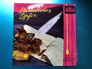 J. S. Bach - Musical Offering / Ars Rediviva Ensemble / Supraphon LP / SUA 10072