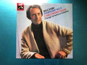 Bruckner: Symphony No. 9 / Carlo Maria Giulini, Chicago Symphony Orchestra / His Master's Voice LP 1977 / ASD 3382