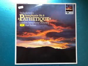 "Tchaikovski: Symphonie N° 6 ""Pathétique"" / London Symphony Orchestra, Karl Boehm / Deutsche Grammophon LP 1987 Stereo / 419 647-1"