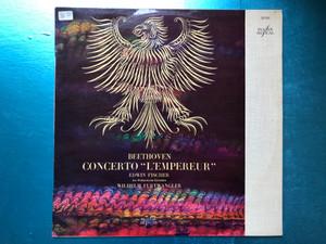 Beethoven - Concerto « L'Empereur » / Edwin Fischer, The Philharmonia Orchestra, Wilhelm Furtwangler / La Voix De Son Maître LP / FALP 30.034
