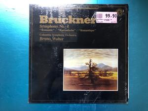 "Bruckner - Symphony N° 4 ""Romantic"" / Columbia Symphony Orchestra, Bruno Walter / Masterworks Portrait / CBS LP 1983 / CBS 60297"