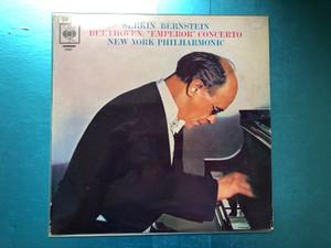 Serkin, Bernstein - Beethoven: ''Emperor'' Concerto / New York Philharmonic / Columbia Masterworks LP / ML 5766
